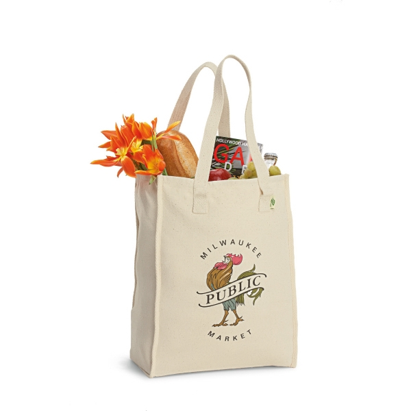 Personalized Recycled Cotton Market Bag