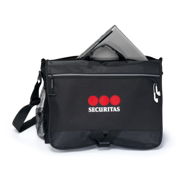 Personalized Focus Computer Messenger Bag