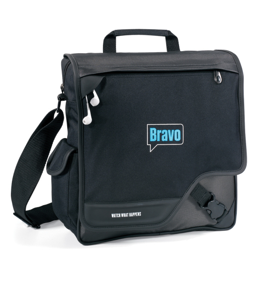Promotional Satellite Vertical Computer Messenger Bag
