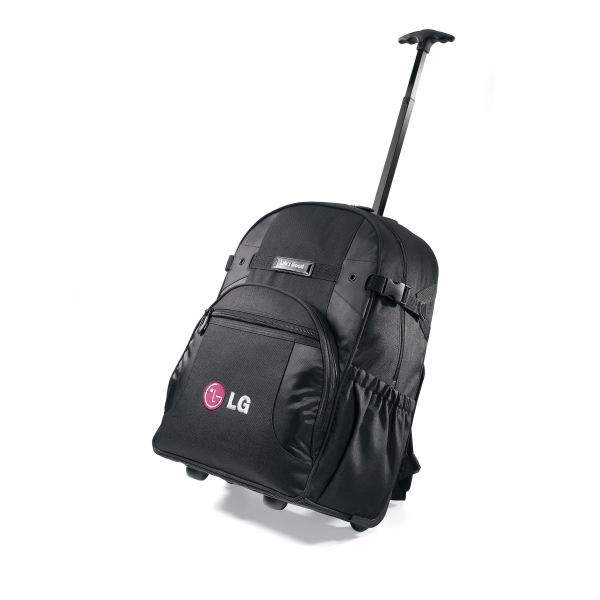 Promotional Deluxe Wheeled Computer Backpack