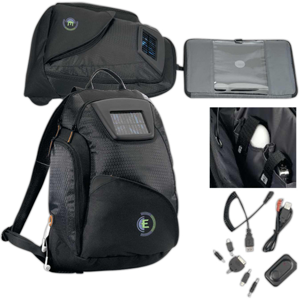 Personalized Catalyst Solar Computer Backpack