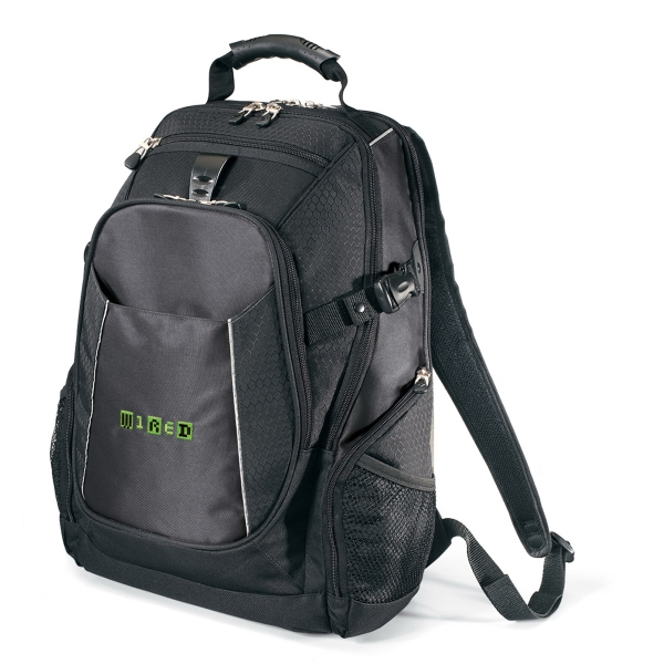 Imprinted Vertex (TM) Computer Backpack