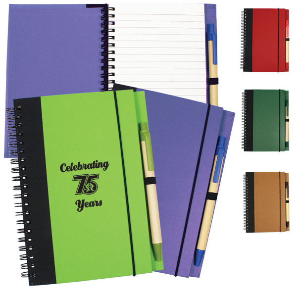 Printed Contrast Paperboard Eco Journal