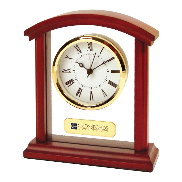 Printed Sculpted Arch Alarm Clock