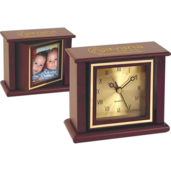 Personalized Classic Swivel Picture Clock