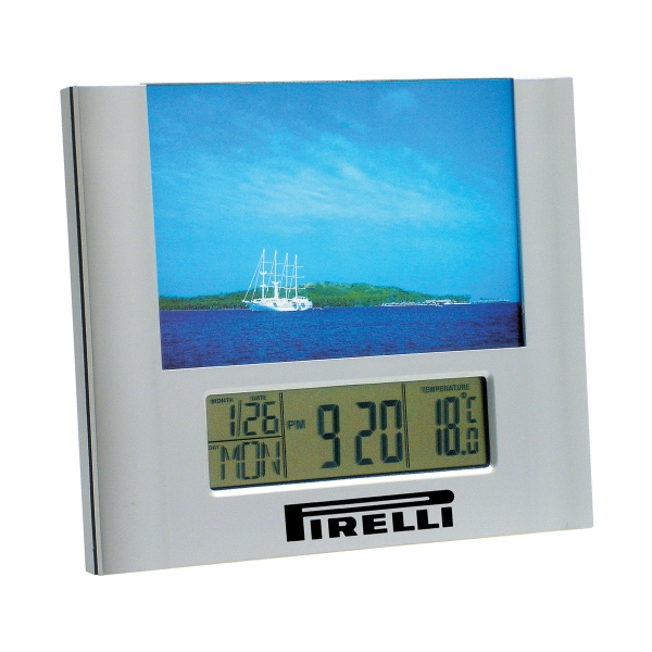 Promotional Pretty As A Picture Clock