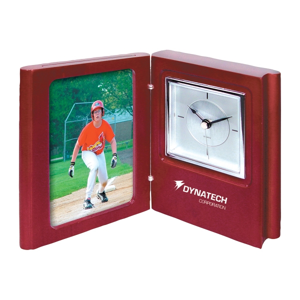 Imprinted Popular book clock/picture frame