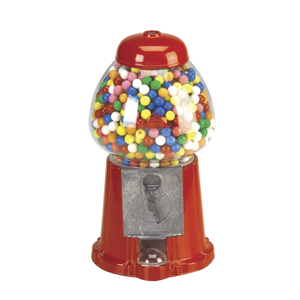 Imprinted Carousel King Size Gumball Machine