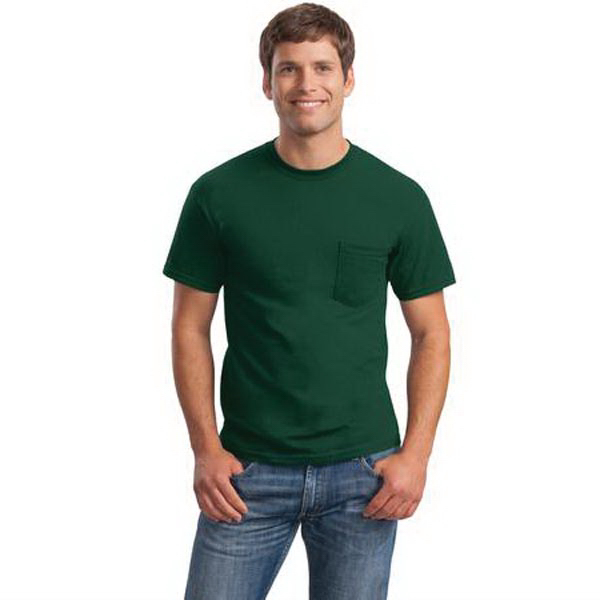 Personalized Gildan - Ultra Cotton (R) 100% Cotton T-Shirt with Pocket