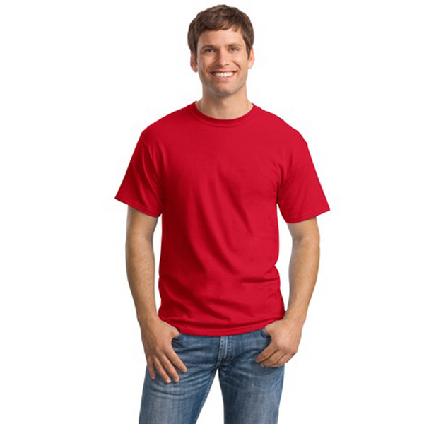 Printed Hanes® Comfortsoft® heavyweight 100% cotton t-shirt