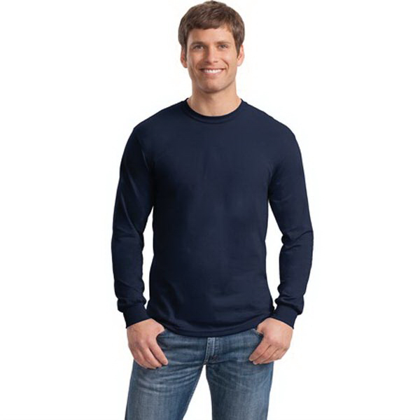 Personalized Gildan® heavy cotton 100% cotton long sleeve t-shirt