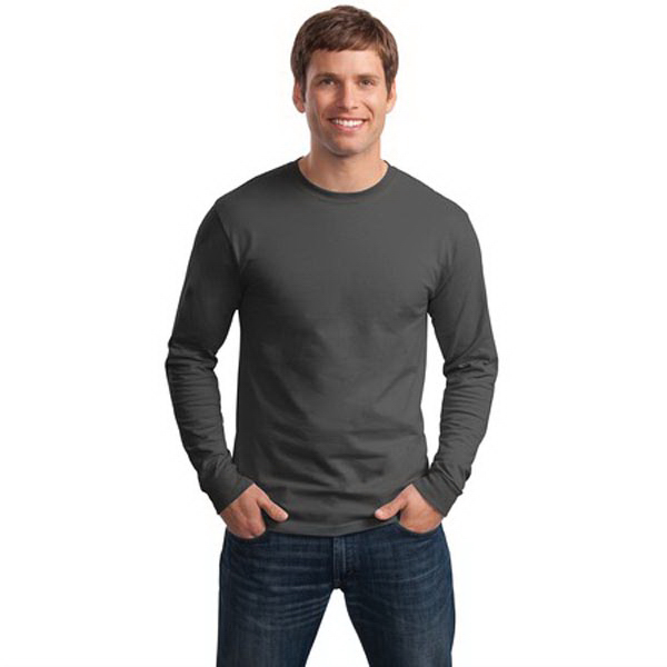 Promotional Hanes® Tagless® 100% cotton long sleeve t-shirt