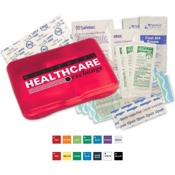 Printed Protect (TM) First Aid Kit