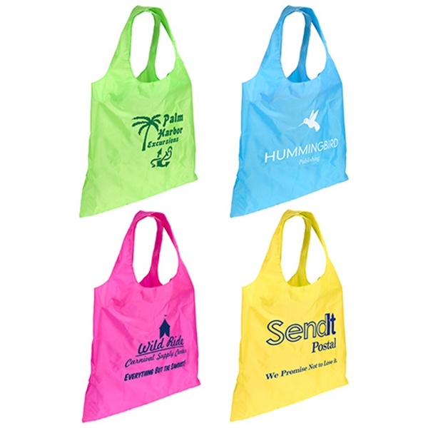 Custom Spring Sling Folding Tote Bag