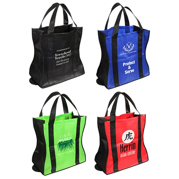 Custom Wave Rider Folding Tote Bag