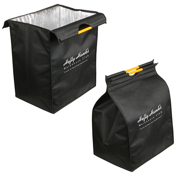 Imprinted XL Insulated Recycled P.E.T. Shopping Bag