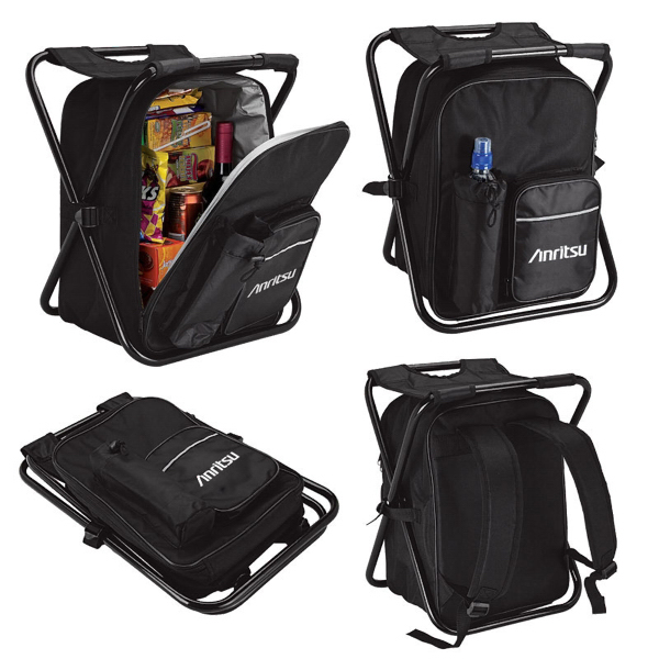 Imprinted Picnic chair backpack cooler
