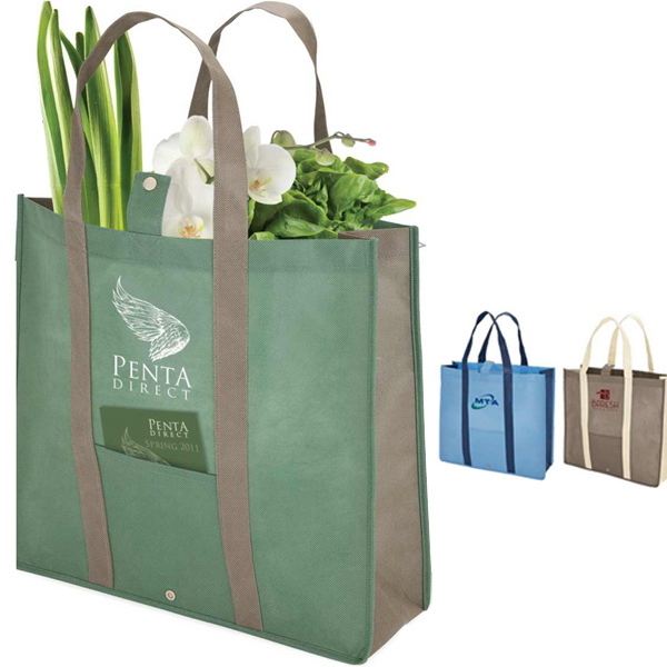 Printed Folding Tote Bag
