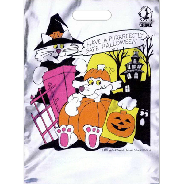 "Custom 11"" x 15"" Stock Design Halloween Bag"