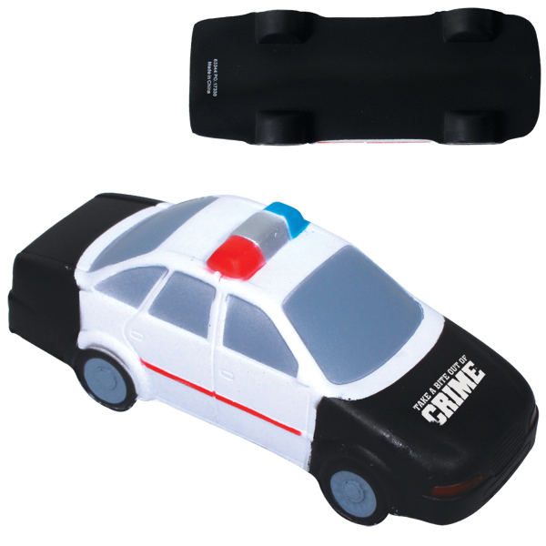 Customized Police car stress ball