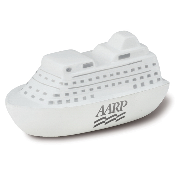 Imprinted Cruise Ship Stress Ball