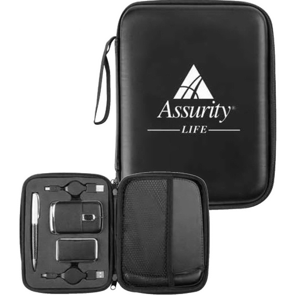Imprinted Executive Super USB Gift Set