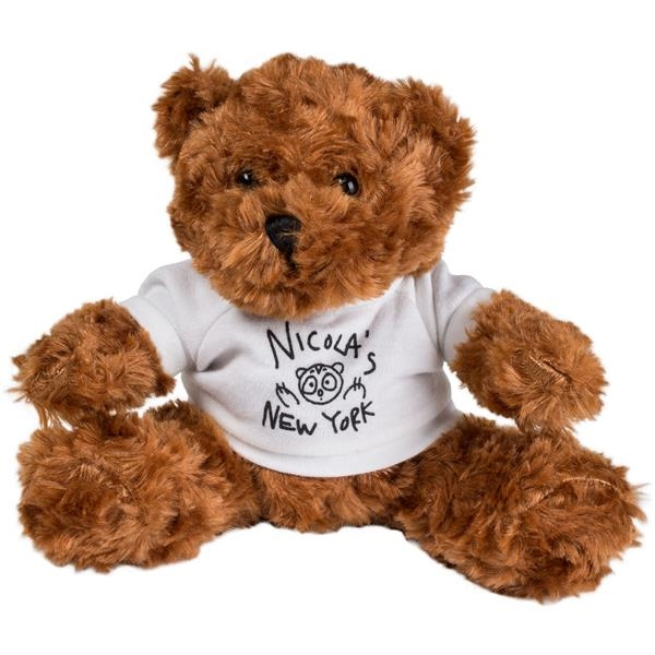 Imprinted Animal Fair Cocoa Bear