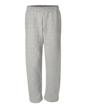 Printed Gildan (R) DryBlend (TM) Open Bottom Pocketed Sweatpants