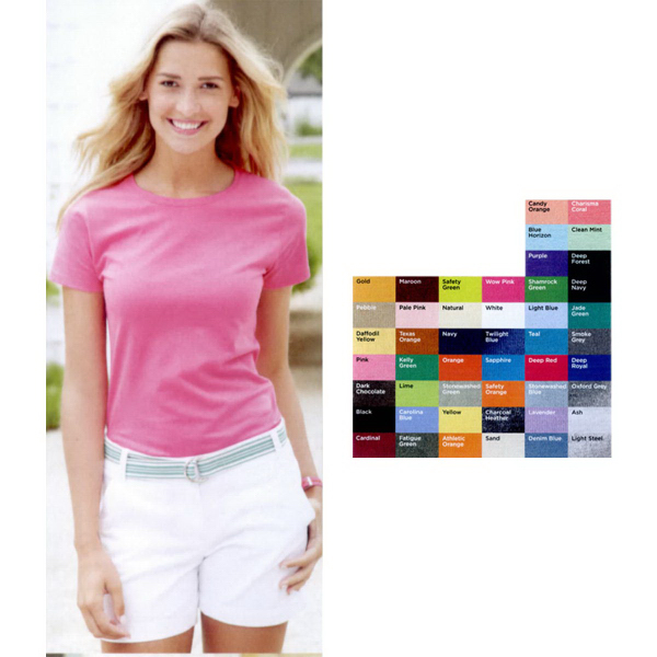 Promotional Hanes (R) Ladies' ComfortSoft (R) T-Shirt