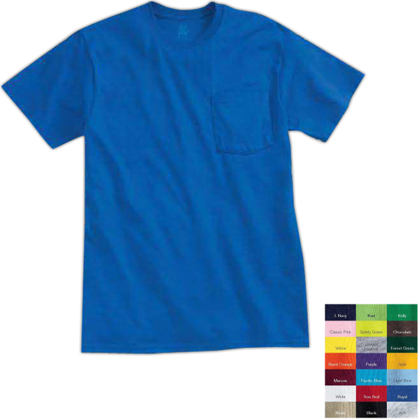 Custom Fruit of the Loom (R) Best (TM) 50/50 T-shirt with Pocket