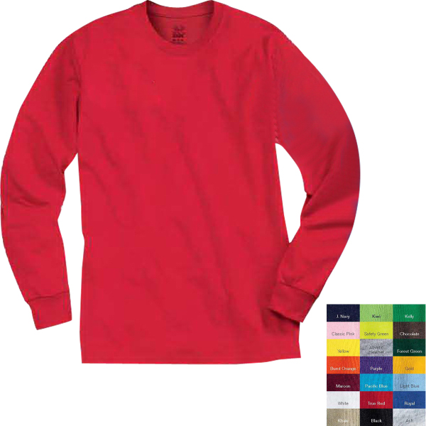 Promotional Fruit of the Loom (R) Best (TM) 50/50 Long Sleeve T-shirt