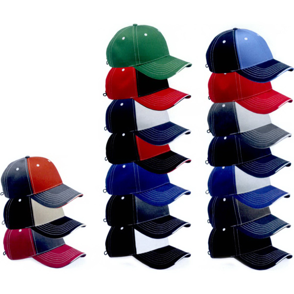 Custom Sportsman Tri-Color Cap
