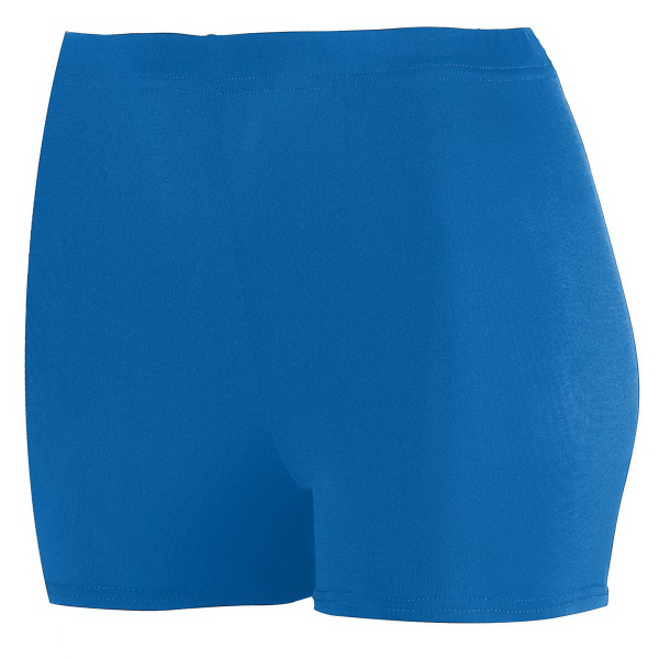 "Custom Ladies Poly/Spandex 2.5"" Short"
