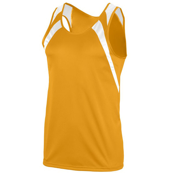 Imprinted Adult Wicking Tank with Shoulder Insert