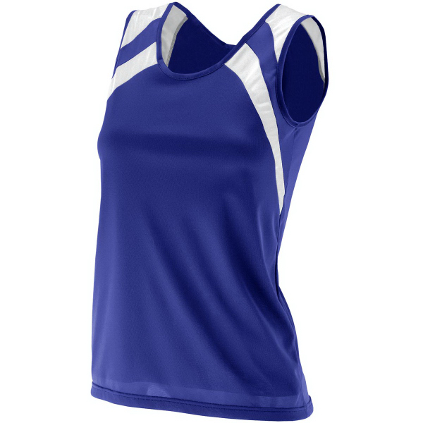 Imprinted Ladies Wicking Tank with Shoulder Insert