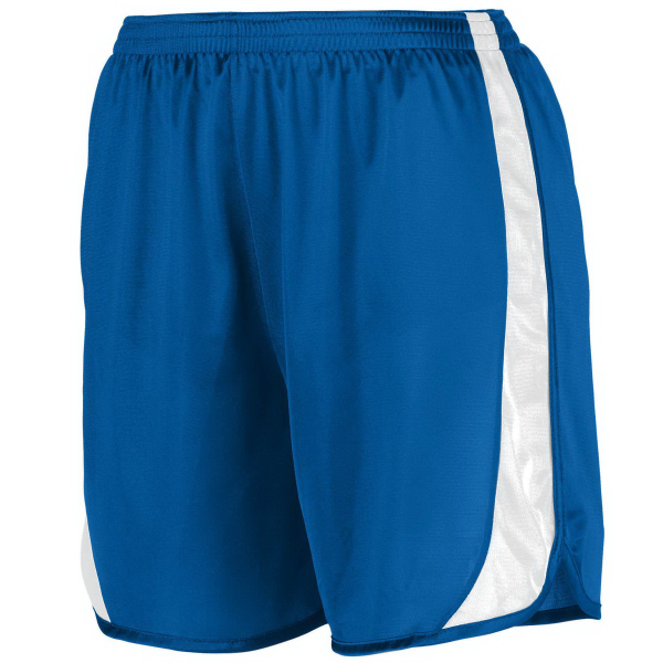 Personalized Adult Wicking Track Short with Side Insert