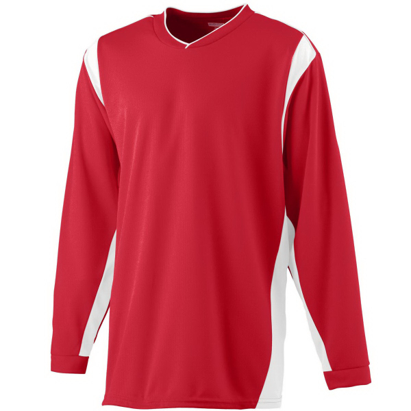 Customized Adult Wicking Long Sleeve Warmup Shirt