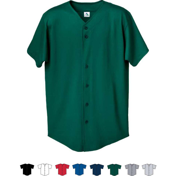 Custom Button Front Adult Baseball Shirt