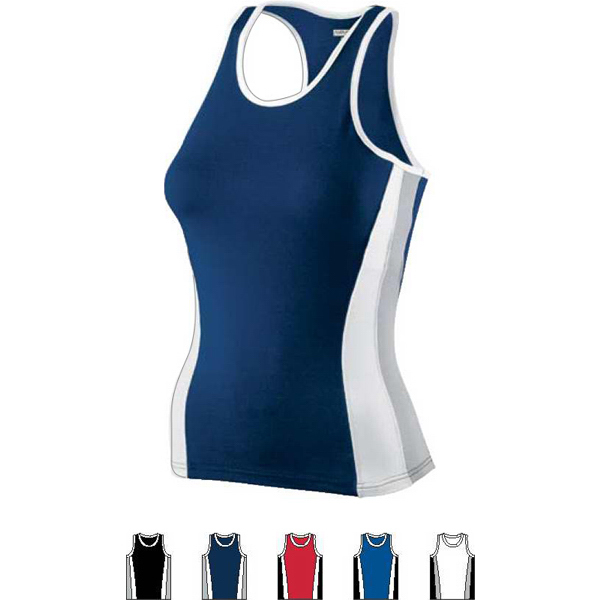 Custom Ladies Poly/Spandex Racerback Tank