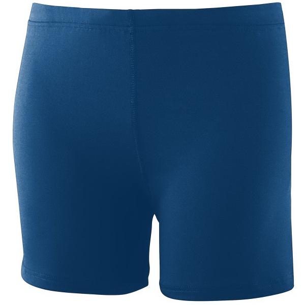 "Customized Ladies Poly/Spandex 4"" Short"