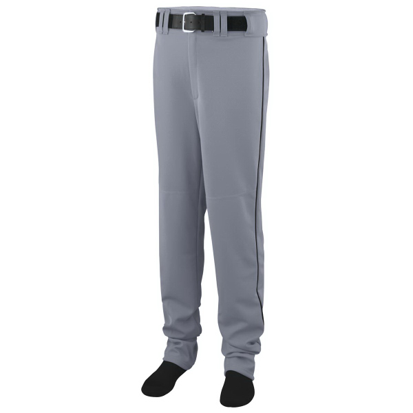 Imprinted Open Bottom Adult Baseball/Softball Pant with Piping