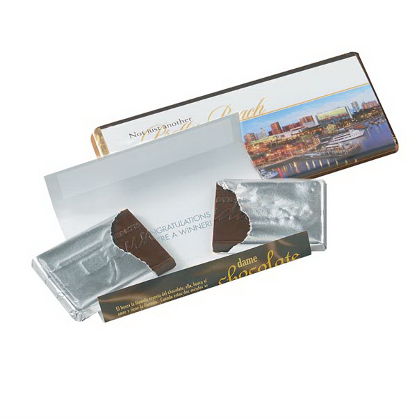 Promotional Valentine Chocolate Wrapper Bar