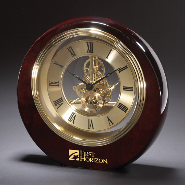 Promotional Articulation Wood Clock