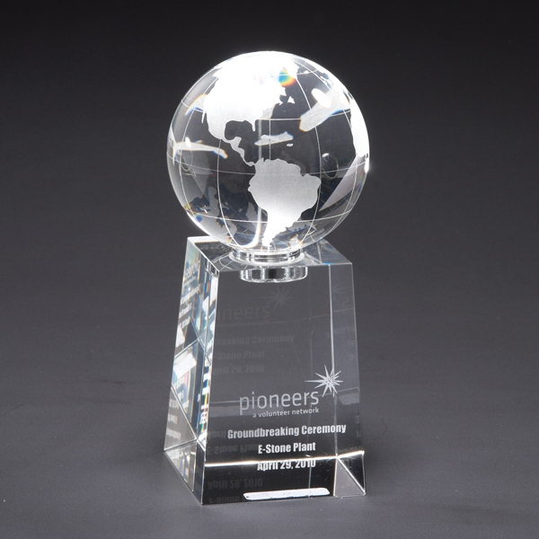 Custom Explorer Globe Optically Perfect Award