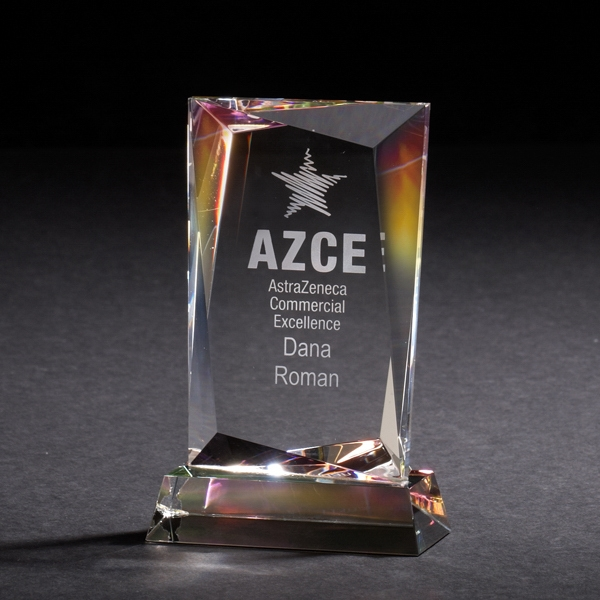 Customized Achievement Dichroic Crystal Award