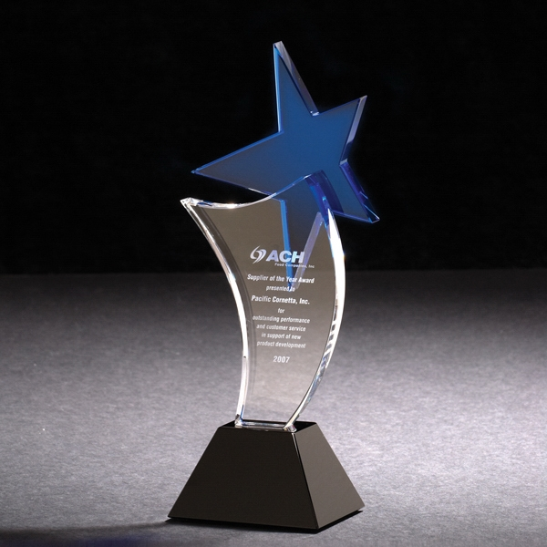 Promotional Ascent Star Optically Perfect Award
