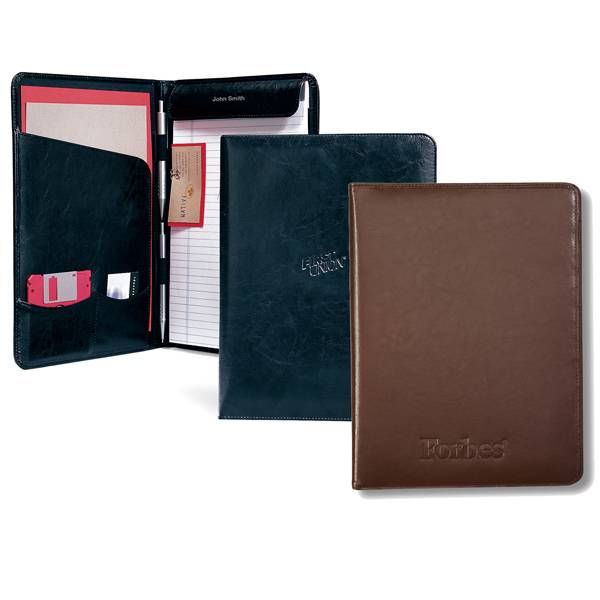 Personalized Executive Vintage Leather Writing Pad