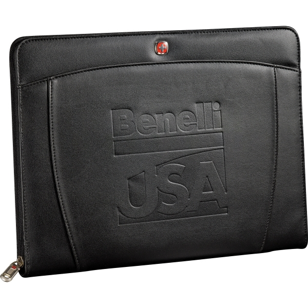 Promotional Wenger (R) Zippered Padfolio Bundle Set