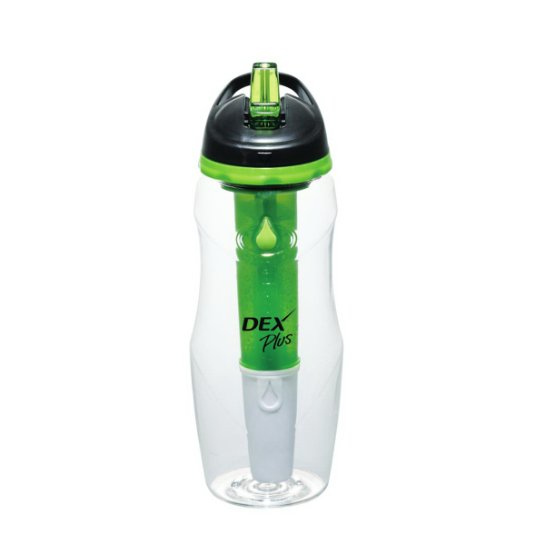 Custom Cool Gear (R) Water Filtration BPA Free Sport Bottle 26 oz