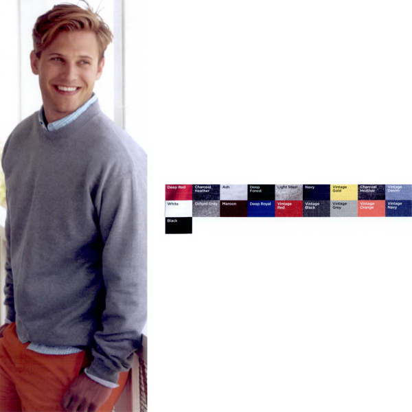 Printed Hanes (R) Ultimate Cotton (R) Crewneck Sweatshirt